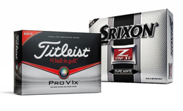 Free Setup on all Titleist & Srixon Balls