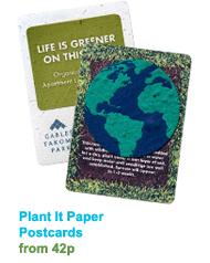 Plant It Paper Postcards